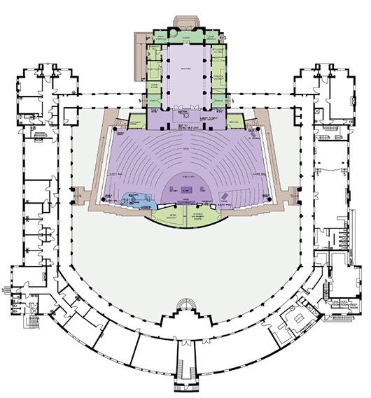 church floorplan 530